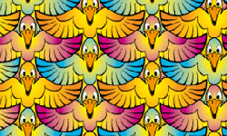 birds legs tessellation
