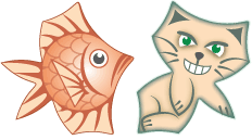 cats & fishes tilings