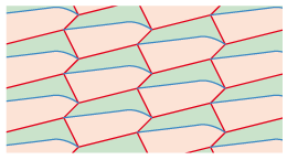 divided hexagons 1 tessellation