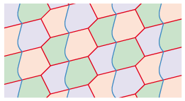 divided hexagons 2 tessellation