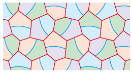 divided hexagons 6 tessellation