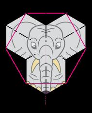 non-periodic elephant