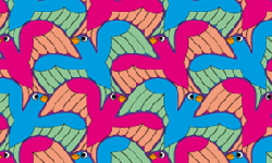 swallow tessellation