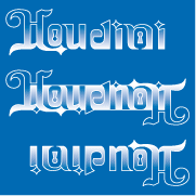 ambigramme houdini