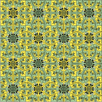 lizards squares tessellation