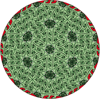 rose with lézards 4a and 6b tessellation