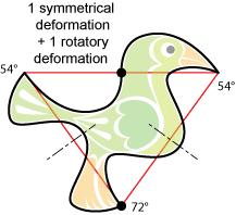 non-periodic pentagonal birds