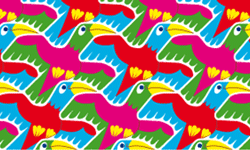 toucans tessellation